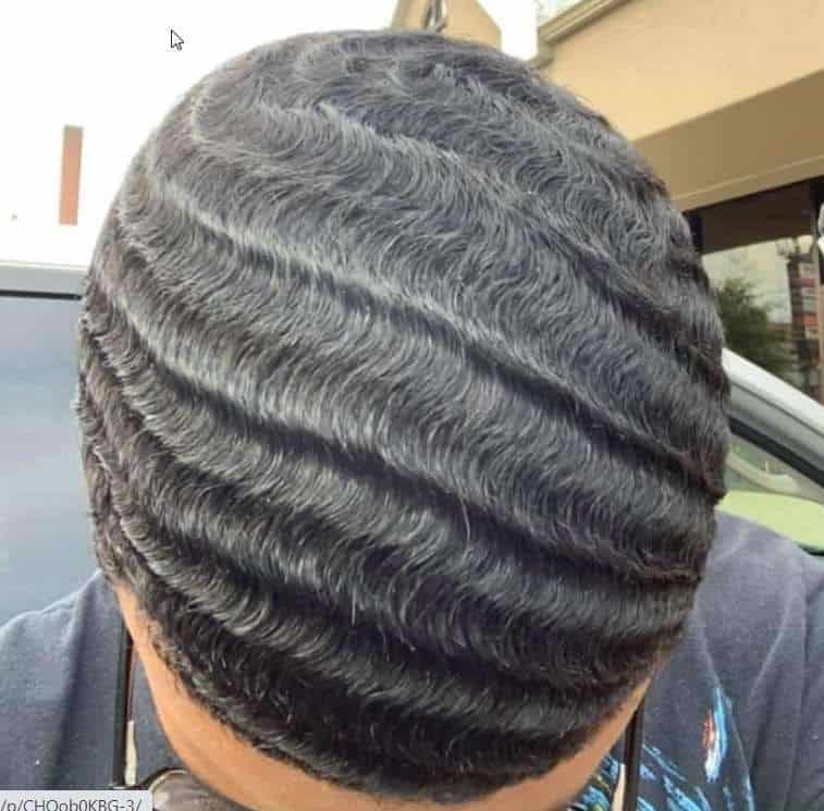 360 waves pattern