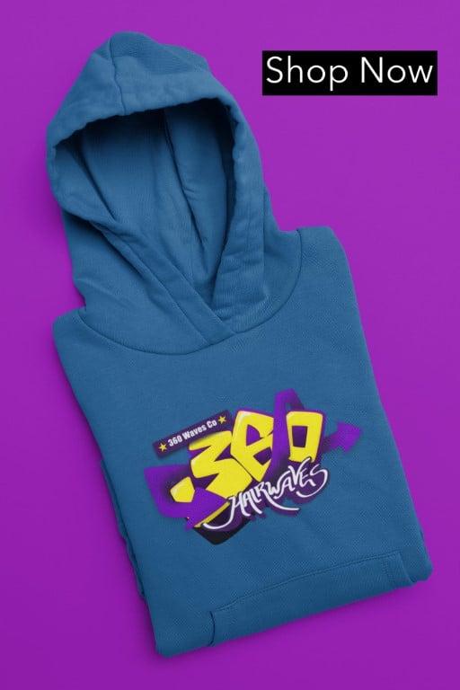 360 waves hoodie